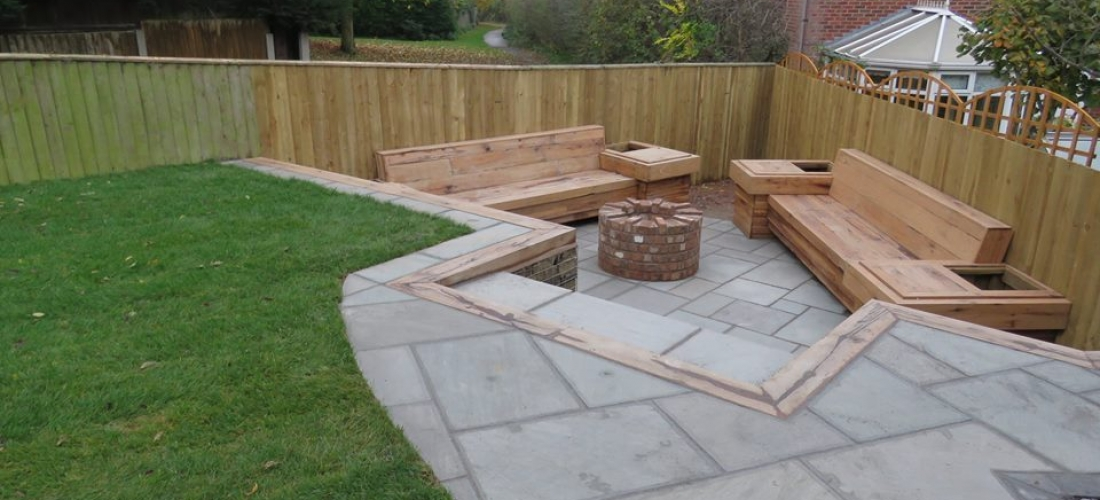 Indian Stone Patio Design and Construction